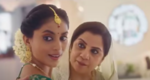 A still from the now withdrawn Tanishq Ad